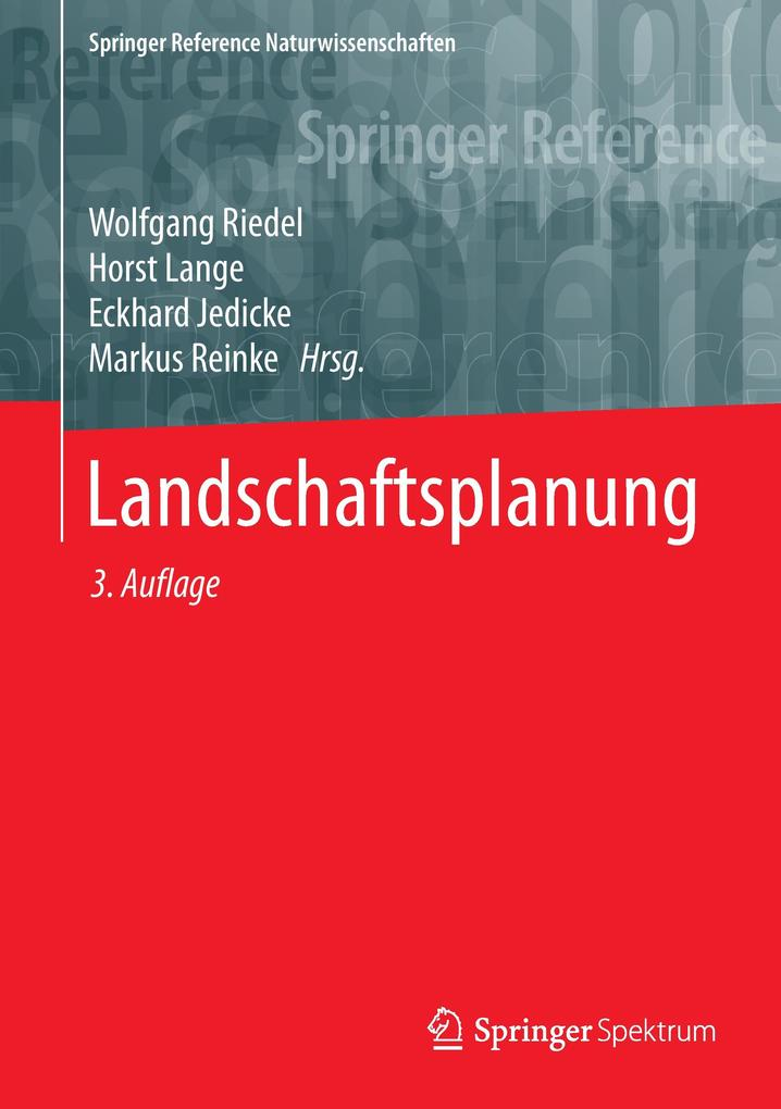 Landschaftsplanung als Buch (gebunden)