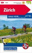 KuF Schweiz Radkarte 06 Zürich 1 : 60 000