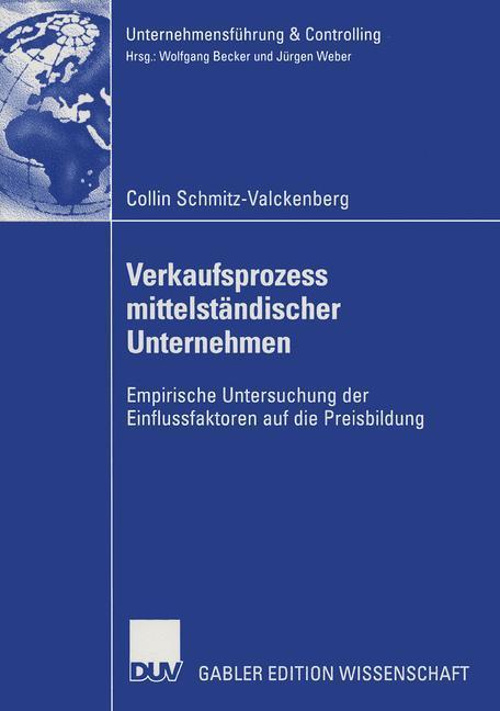 Verkaufsprozess mittelständischer Unternehmen als Buch (kartoniert)