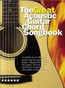 The Great Acoustic Guitar Chord Songbook als Buch (kartoniert)