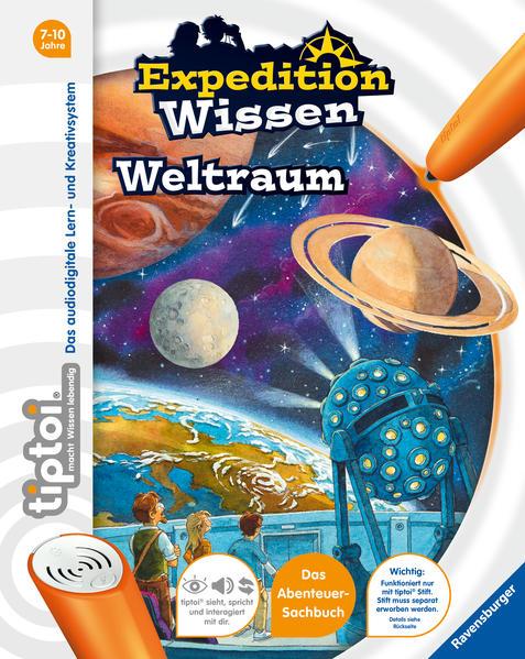 tiptoi® Expedition Wissen: Weltraum als Buch (gebunden)