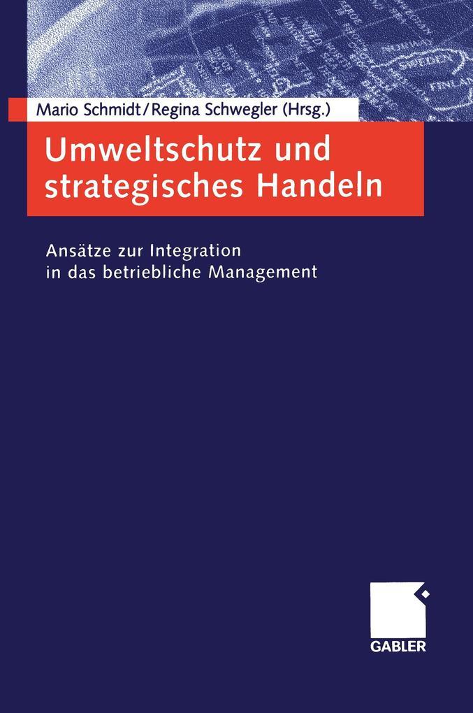 Umweltschutz und strategisches Handeln als Buch (kartoniert)