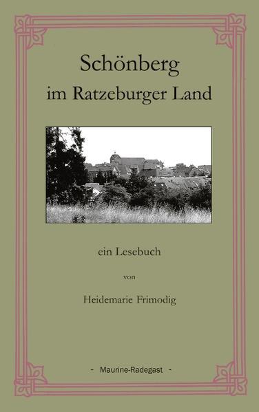 Schönberg im Ratzeburger Land als Buch (gebunden)