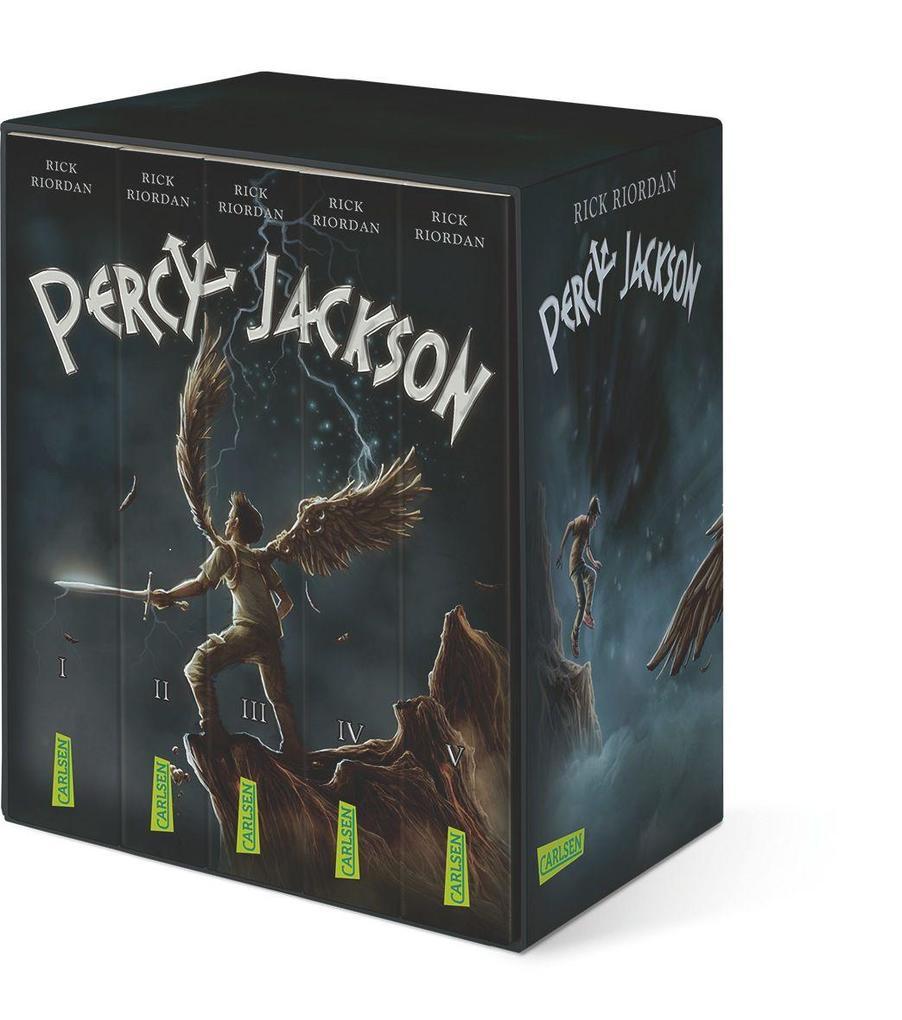 Percy-Jackson-Taschenbuchschuber (Percy Jackson) als Taschenbuch