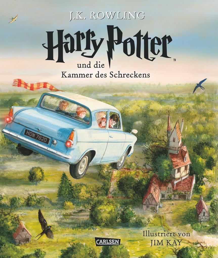 Harry Potter 2 und die Kammer des Schreckens. Schmuckausgabe als Buch (gebunden)
