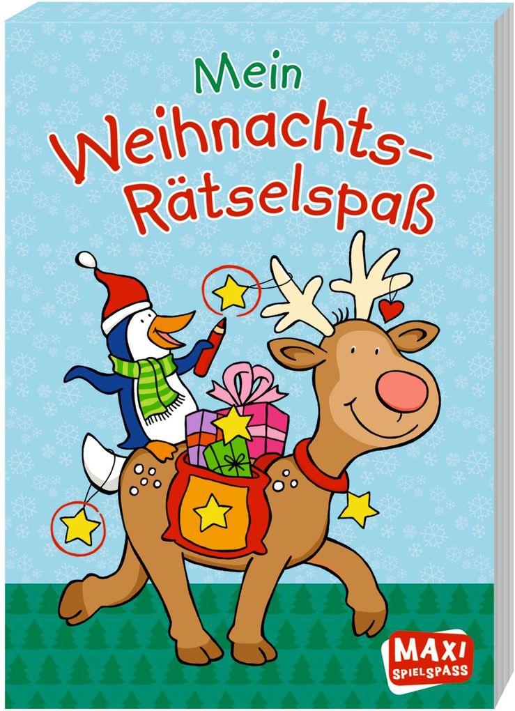 Mein Weihnachts-Rätselspaß als Buch