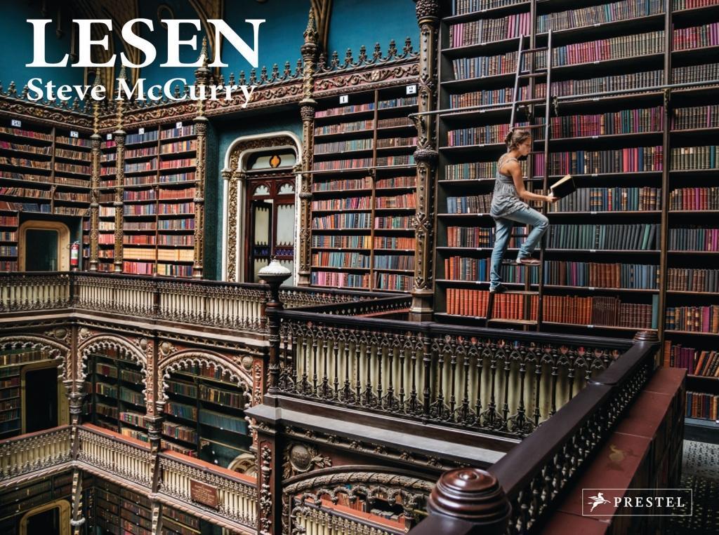 Steve McCurry: Lesen