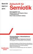 Zeitschrift für Semiotik 36 / 3-4. Kommunikation, Inferentialismus und Semiotik
