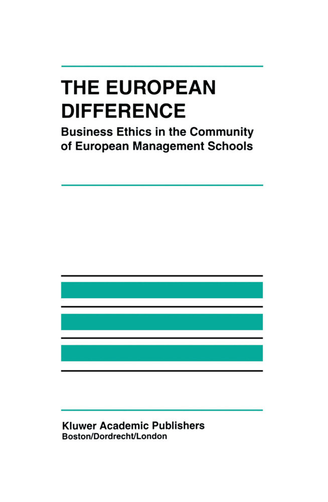 The European Difference als Buch (gebunden)