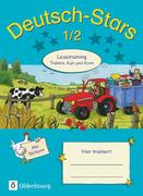Deutsch-Stars. 1./2. Schuljahr. Lesetraining Traktor, Kuh und Korn