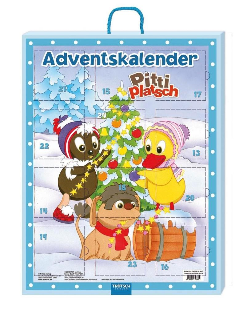 Adventskalender mit Minibüchern