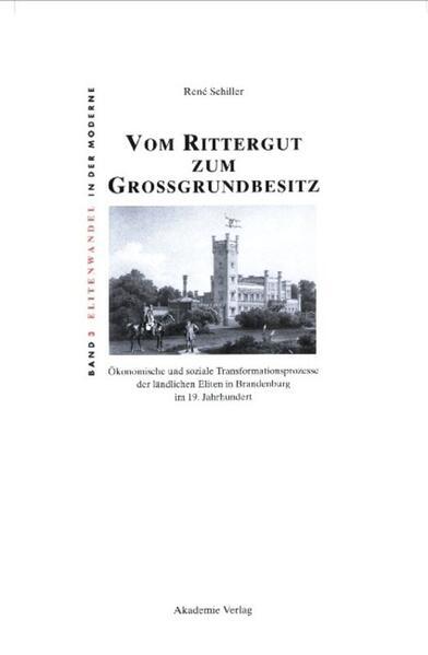 Vom Rittergut zum Großgrundbesitz als Buch (gebunden)