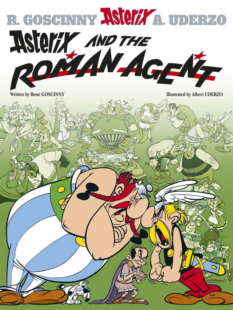 Asterix: Asterix and the Roman Agent als Buch (kartoniert)