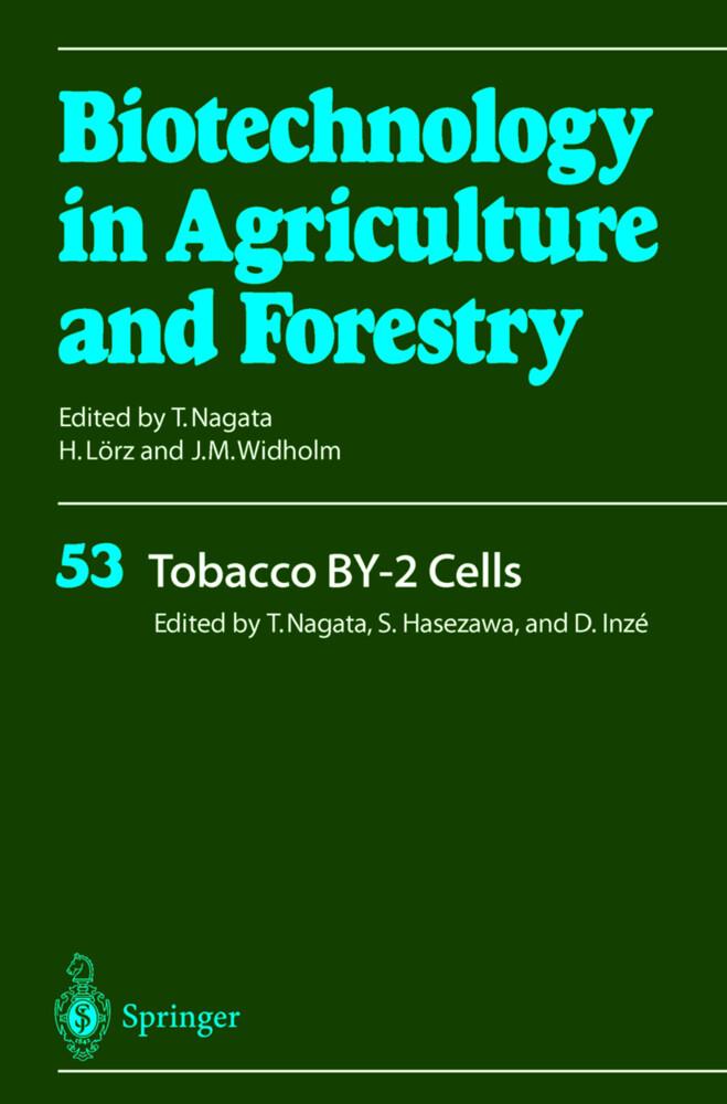 Tobacco BY-2 Cells als Buch (gebunden)