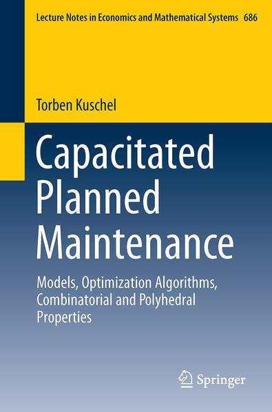 Capacitated Planned Maintenance als Buch (kartoniert)