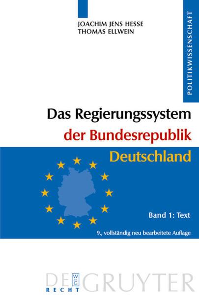 Das Regierungssystem der Bundesrepublik Deutschland, 2 Bde. als Buch (gebunden)