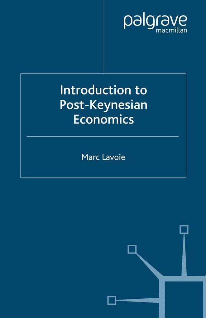 Introduction to Post-Keynesian Economics als Taschenbuch