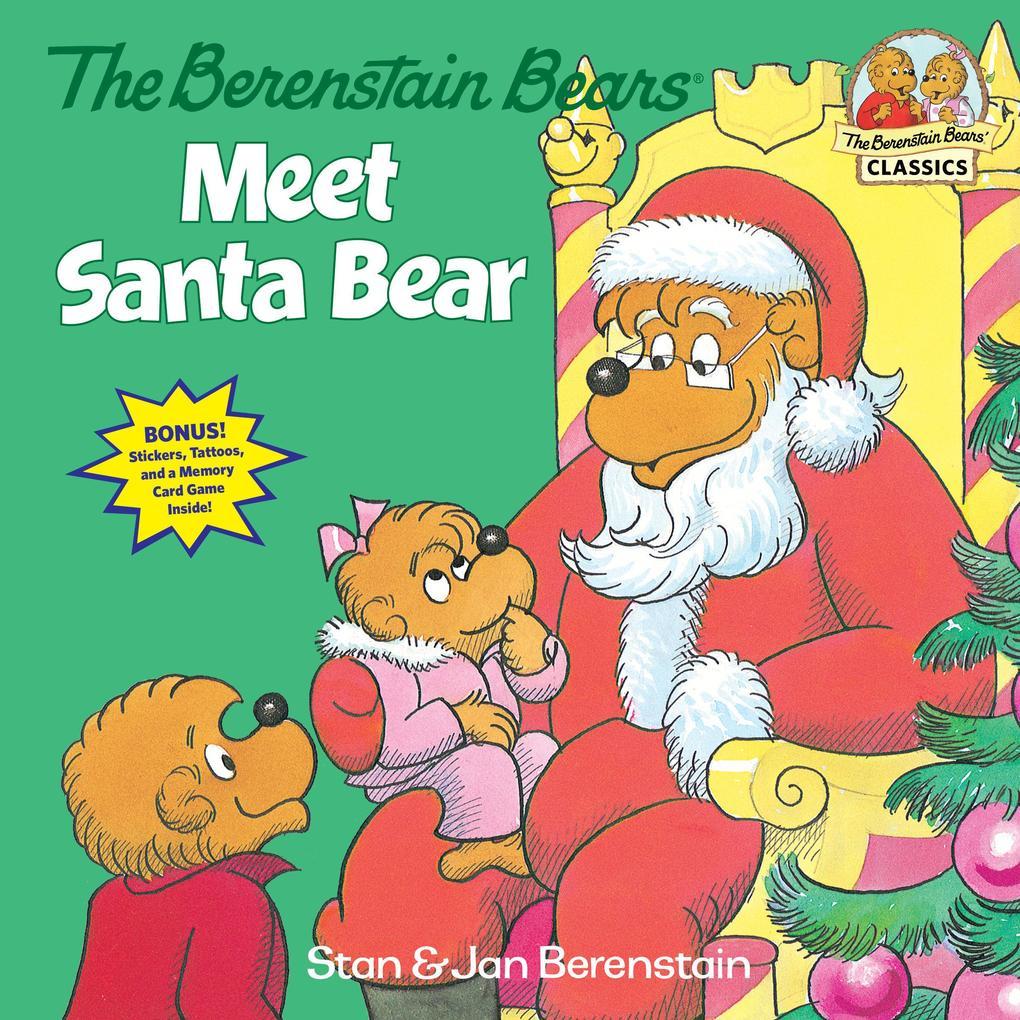 The Berenstain Bears Meet Santa Bear als Taschenbuch