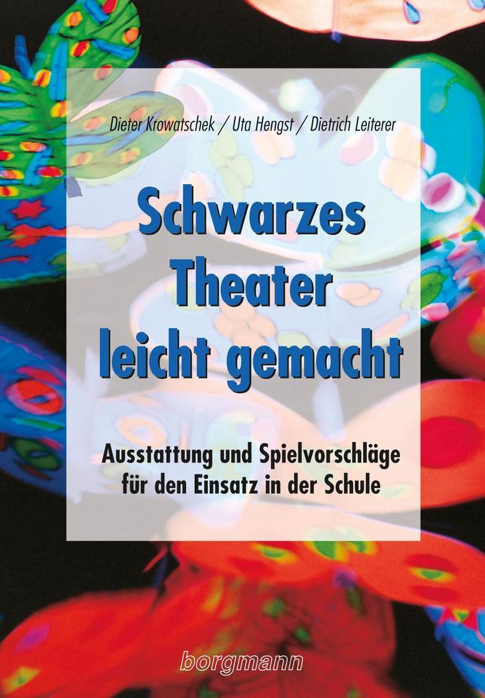 Schwarzes Theater - leicht gemacht als Buch (kartoniert)