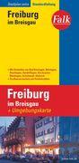 Falk Stadtplan Extra Standardfaltung Freiburg mit Ortsteilen von Bad Krotzingen 1 : 17 500