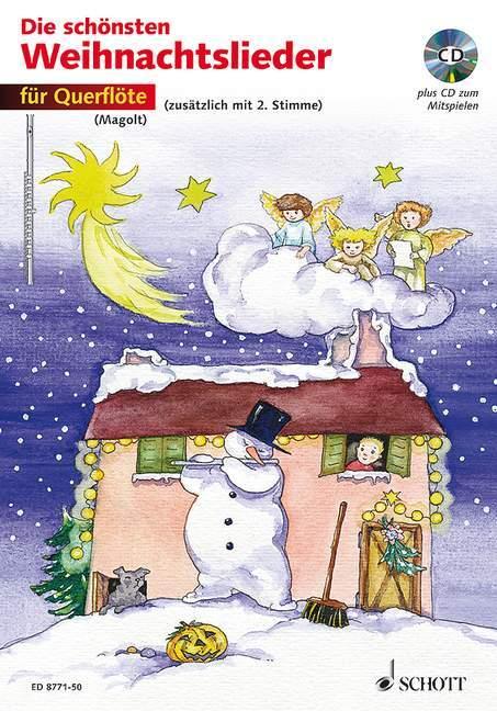 Die schönsten Weihnachtslieder für Querflöte. Mit CD als Buch (kartoniert)