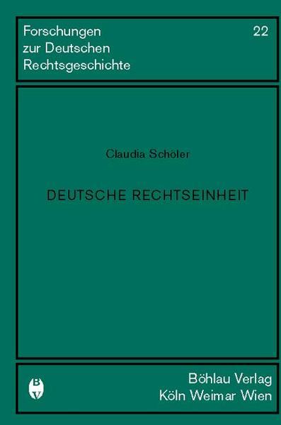 Deutsche Rechtseinheit als Buch (gebunden)