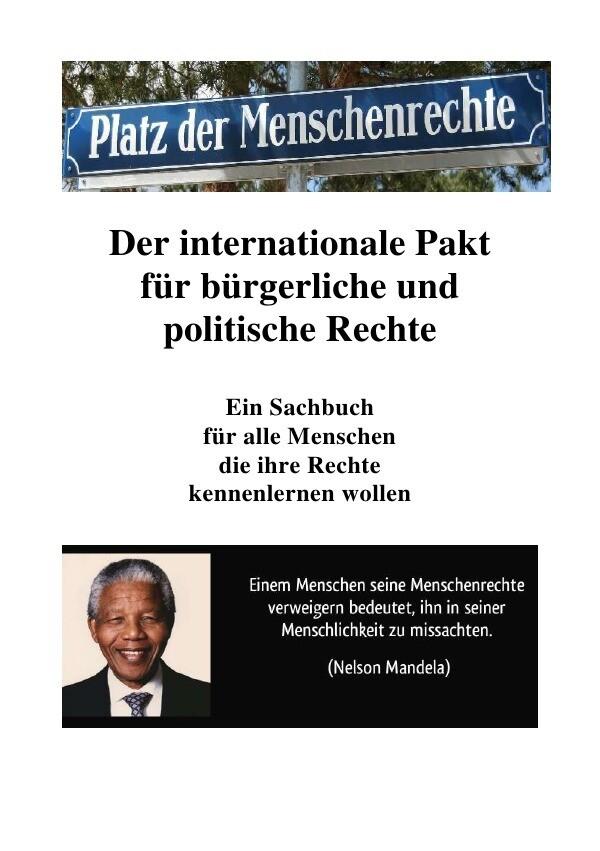 Internationaler Pakt für bürgerliche und politische Rechte als Buch (kartoniert)