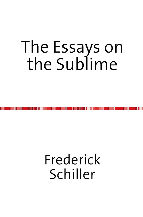 The Essays on the Sublime als Buch (kartoniert)