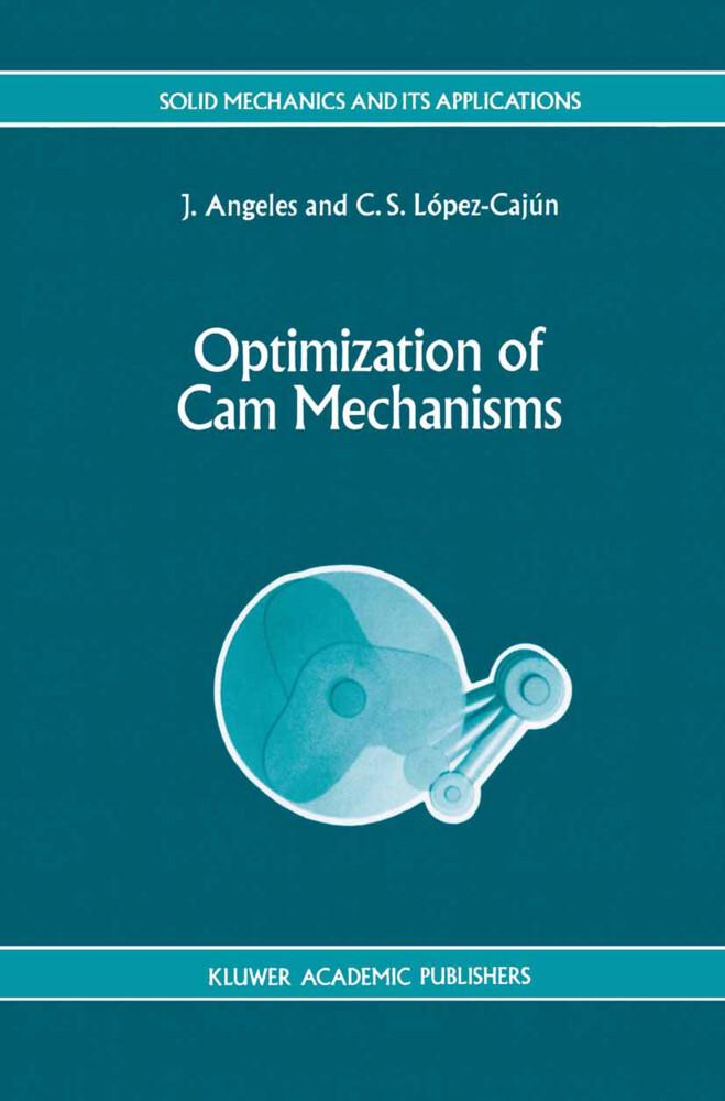 Optimization of Cam Mechanisms als Buch (gebunden)