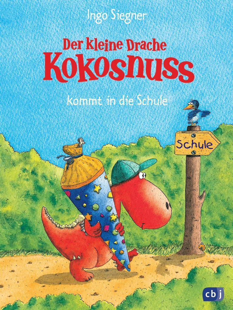 Der kleine Drache Kokosnuss 01 kommt in die Schule als Buch (gebunden)