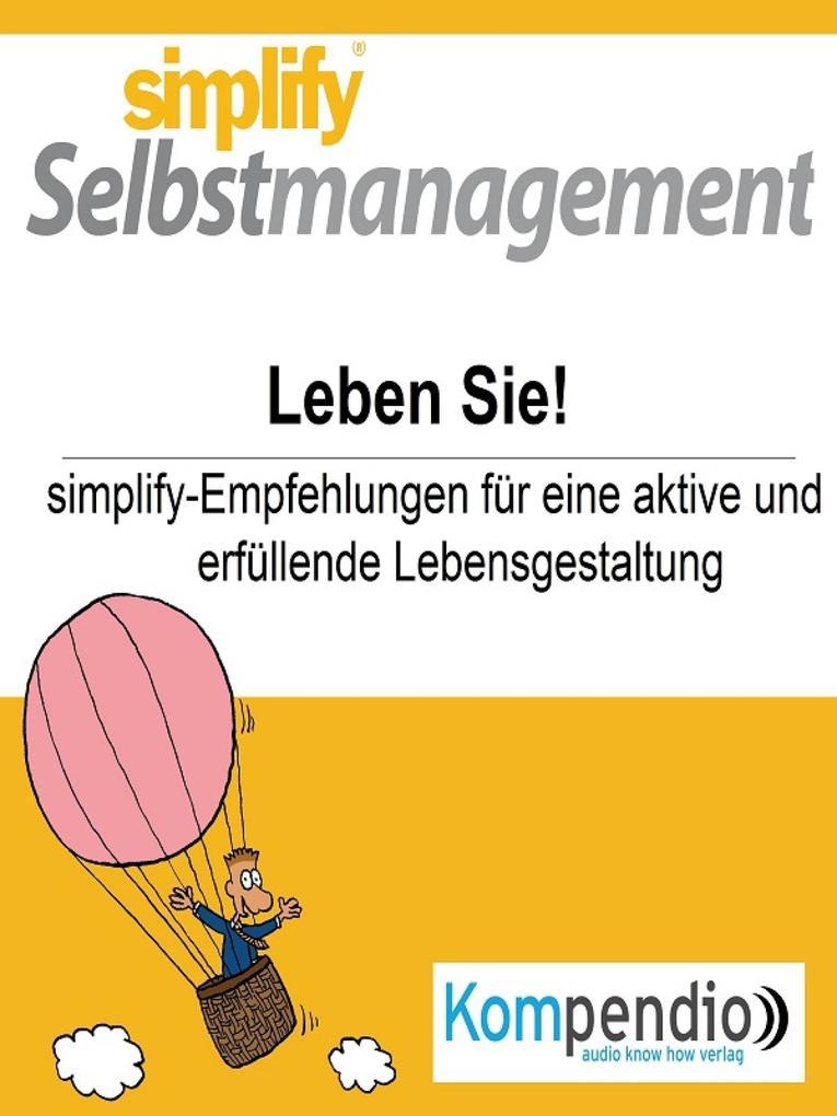 simplify Selbstmanagement als eBook epub