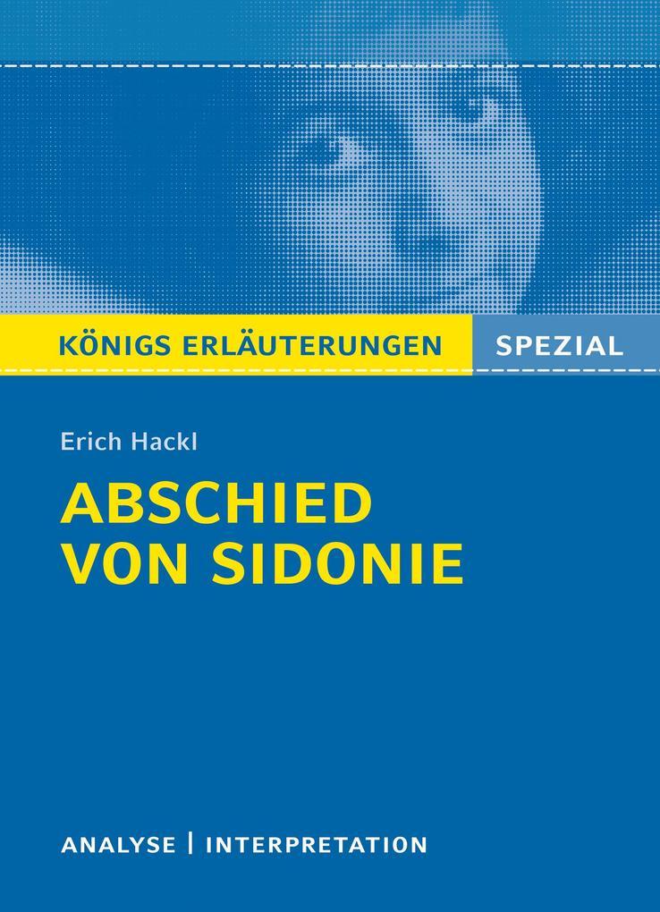 Abschied von Sidonie als eBook epub