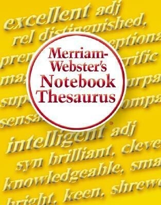 Merriam-Webster's Notebook Thesaurus als Taschenbuch