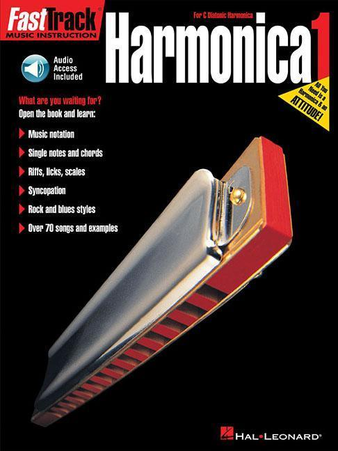 Fasttrack Harmonica Method - Book 1: For Diatonic Harmonica [With CD] als Taschenbuch