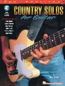 Country Solos for Guitar: Reh * Prolicks Series [With CD with Full Demostrations & Rythm-Only Tracks] als Taschenbuch