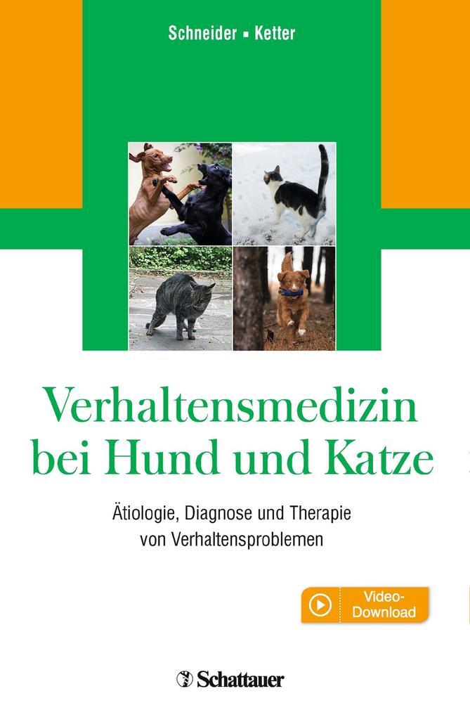 Verhaltensmedizin bei Hund und Katze als eBook pdf