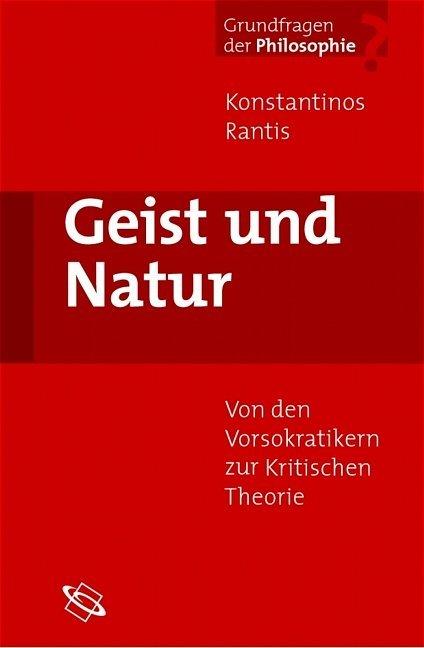 Geist und Natur als Buch (gebunden)