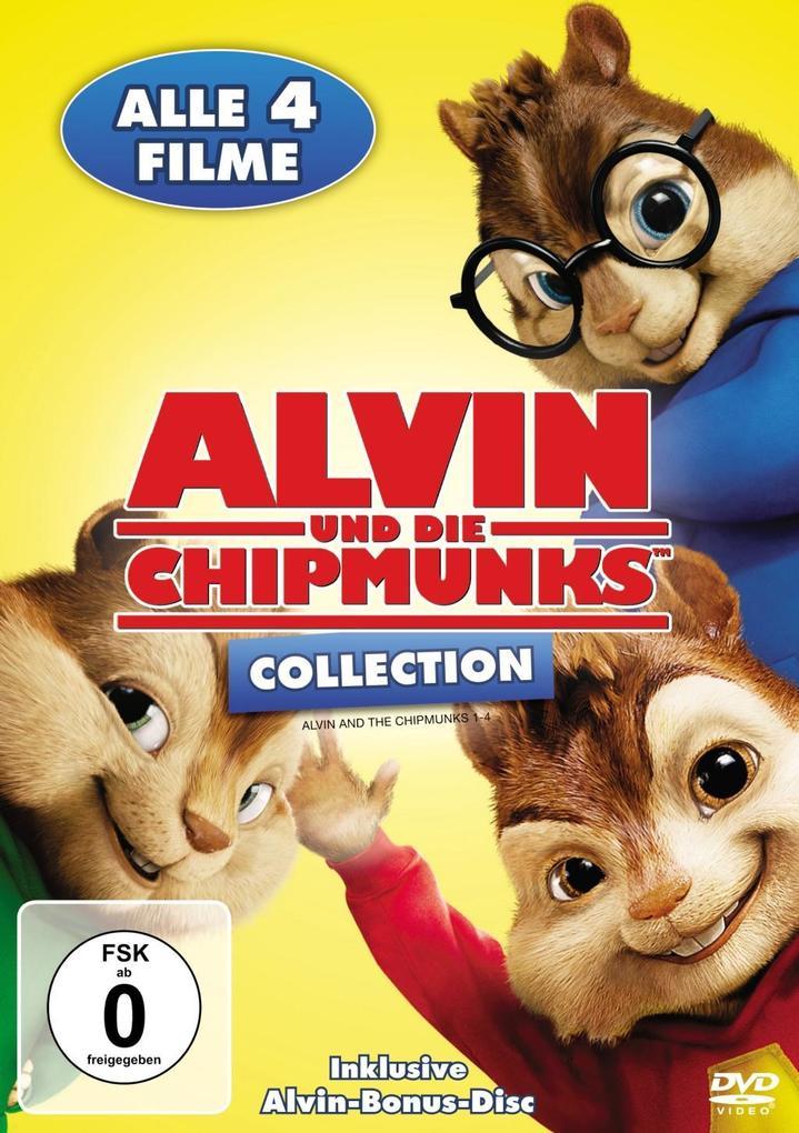 Alvin und die Chipmunks als DVD