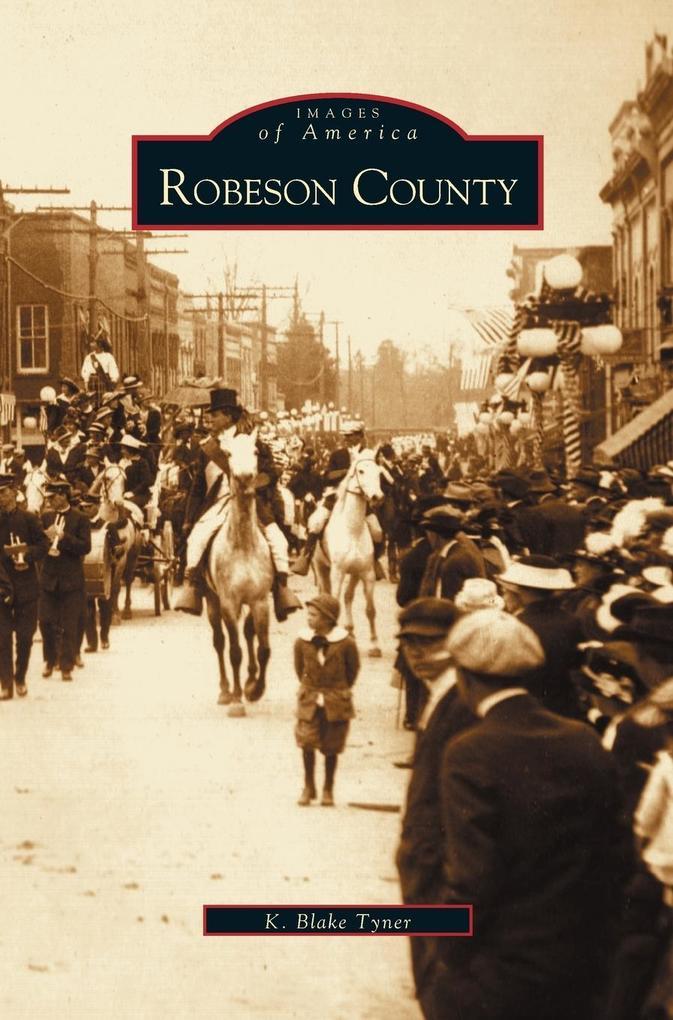 Robeson County als Buch (gebunden)