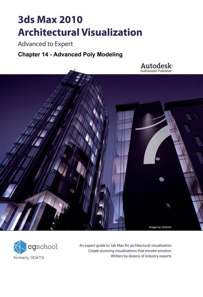 Chapter 14 - Advanced Poly-Modeling (3ds Max 2010 Architectural Visualization) als eBook epub