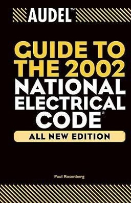 Audel Guide to the 2002 National Electrical Code als Buch (gebunden)