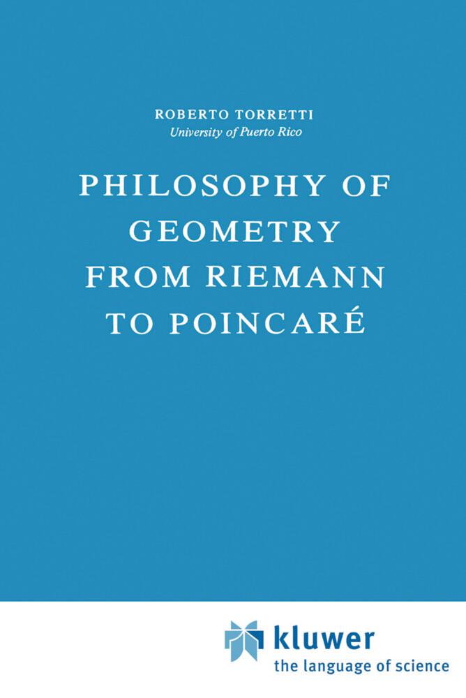 Philosophy of Geometry from Riemann to Poincaré als Buch (gebunden)