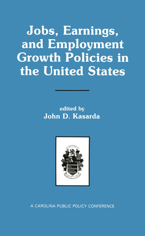Jobs, Earnings, and Employment Growth Policies in the United States als Buch (gebunden)