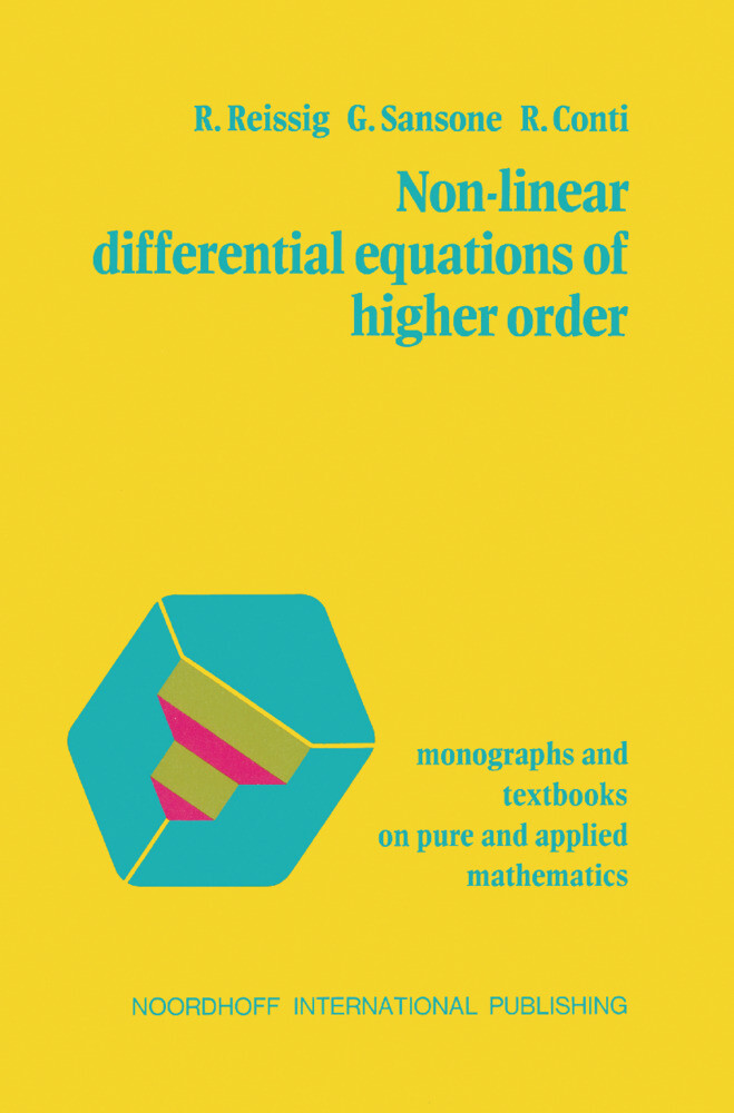 Non-Linear Differential Equations of Higher Order als Buch (gebunden)