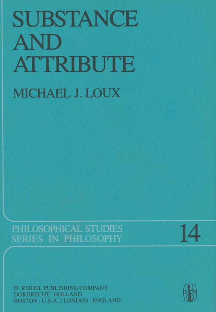 Substance and Attribute als Buch (gebunden)