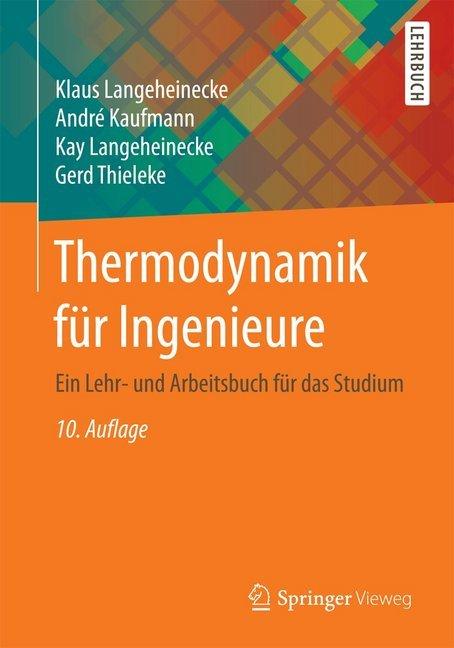 Thermodynamik für Ingenieure als Buch (kartoniert)
