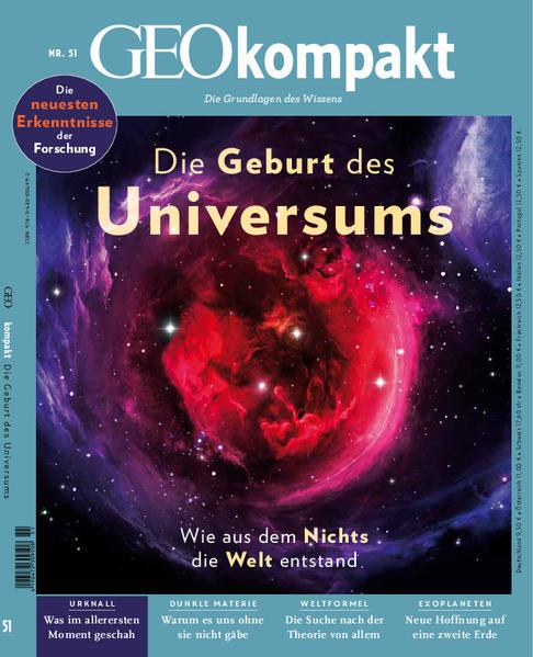 GEO kompakt / GEOkompakt 51/2017 - Die Geburt des Universums als Buch