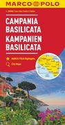 MARCO POLO Karte Italien 12. Kampanien, Basilicata 1:200 000