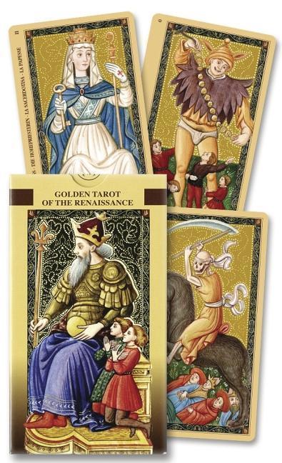 Golden Tarot of the Renaissance: Estensi Tarot als Taschenbuch