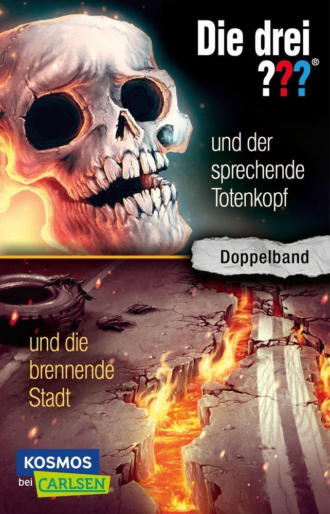 Die drei ??? und der sprechende Totenkopf / und die brennende Stadt (Doppelband) (drei Fragezeichen) als Taschenbuch